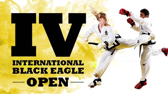 Invitation to 4th Black Eagle International Taekwon-Do Open thumbnail
