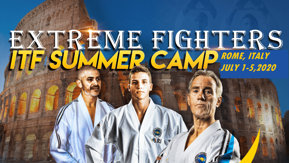 Invitation to 2nd Extreme Fighters ITF Summer Camp thumbnail
