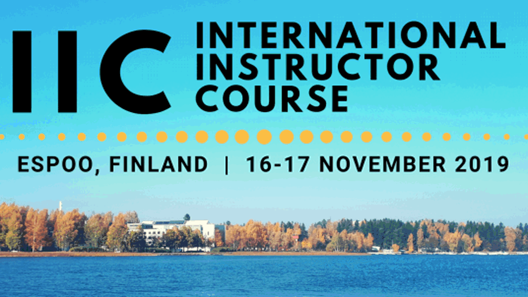 Invitation to IIC in Espoo, Finland thumbnail