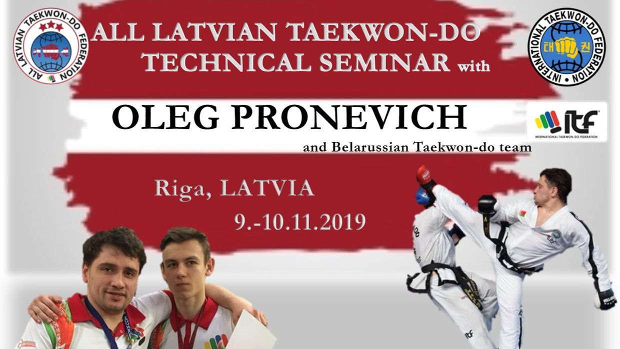 Seminar with Oleg Pronevich in Latvia thumbnail