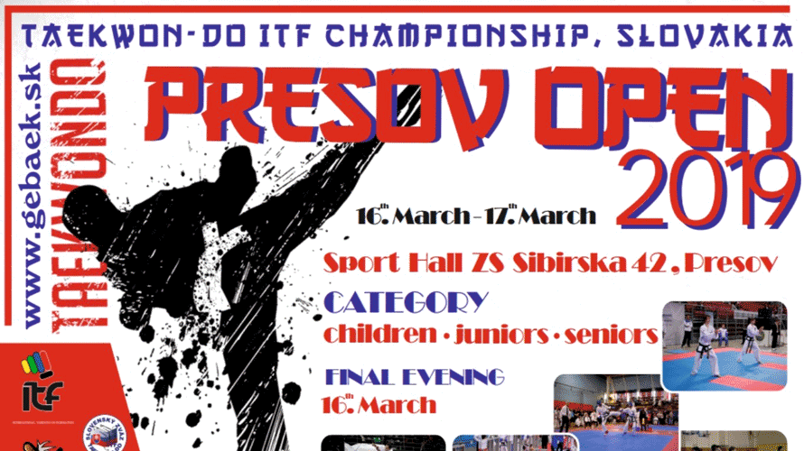 Invitation to 17th Presov Open in Slovakia thumbnail