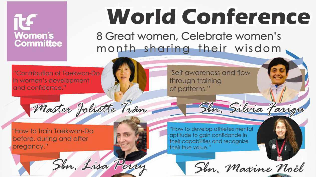 Invitation to ITF World Conference: The power of women in Taekwon-Do thumbnail