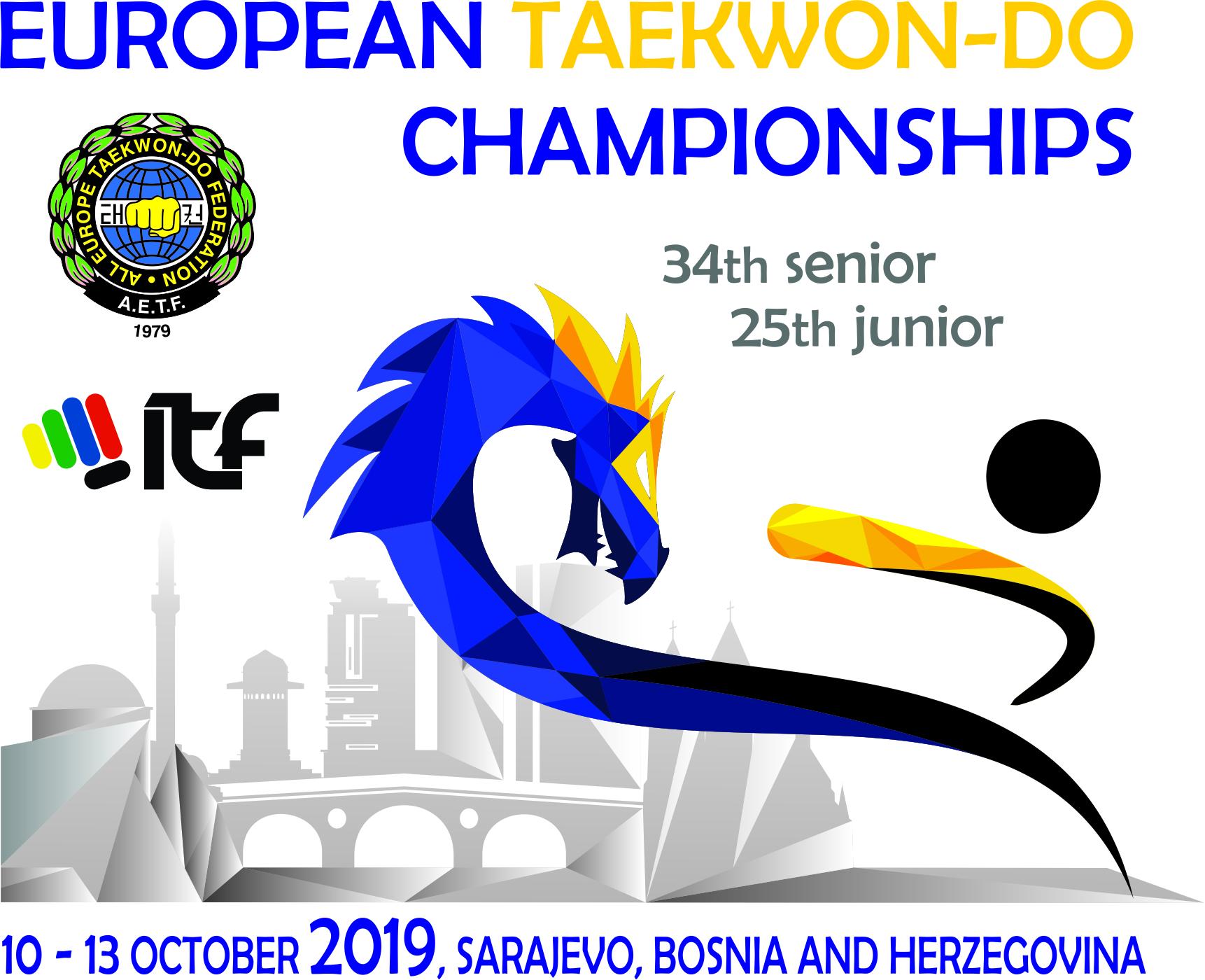 Invitation to Euros 2019 - Sarajevo, Bosnia & Herzegovina